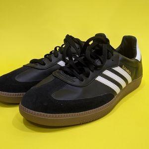 Adidas black Sambas sneakers